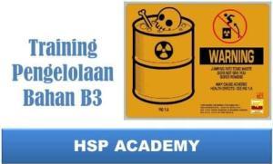 Training Pengelolaan Bahan B3